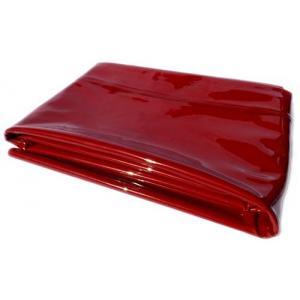 Schweisserschutzplane 0,4 mm in rot nach DIN EN 1598, B 1400 mm x H 1800 mm